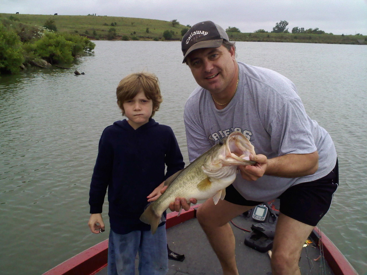 Kansas fishing report reports from anglers july sept for Fishing report kansas