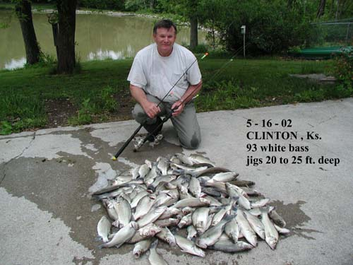 Kansas fishing report from anglers may 2002 for Kansas fish records