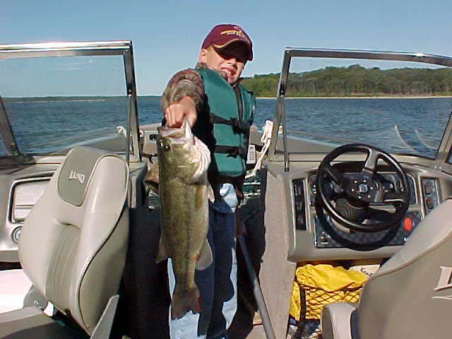 Missouri fishing report from anglers august september 2002 for Stockton fishing report